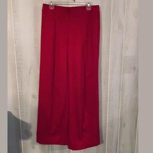 CATO RED DRESSY SLACKS SIZE MEDIUM